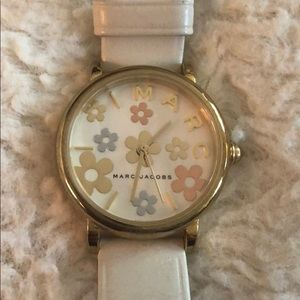 Marc Jacobs Watch with cream band